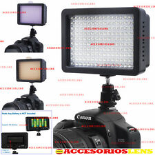 ANTORCHA 160 LED APUTURE PARA VIDEO,FOTO DE 160 LED, PRO CON DIFUSORES