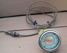 Vintage Stewart Warner Twin Blue Water Temp Gauge 100-240 Degree Mechanical RARE