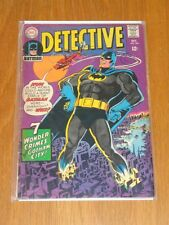 DETECTIVE COMICS #368 VG (4.0) DC COMICS BATMAN OCTOBER 1967