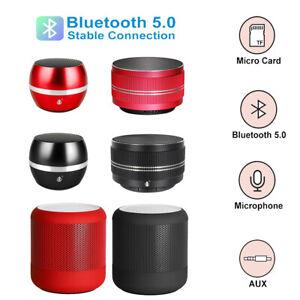 Super Bass Wireless Bluetooth Music Mini Speaker iPhone iPad Tablet Loud TF / FM