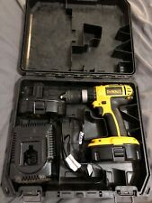 Dewalt drill 18v with 2 batteries and charger