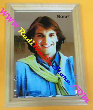 Specchio mirror anni 80 MIGUEL BOSE' 12x16,5 cm vintage no lp cd dvd vhs mc