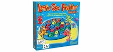 Pressman Let's Go Fishin Action Game with 21 Colorful Fish Toy for Little Kids