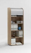 Rolladenschrank Aktenschrank Büroschrank Schrank Mod.F.292-022 Eiche