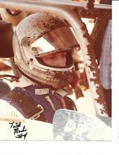 Autographed Todd Mack World of Outlaw Sprint Car Auto Racing Photograph