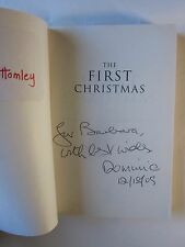 The First Christmas: Gospels Teach about Jesus's Birth by Marcus J. Borg, signed