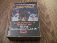RITCHIE BLACKMORE'S RAINBOW Cassette 1975 with Man on the Silver Mountain