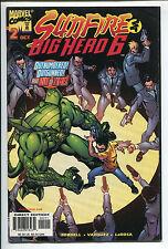 Sunfire & Big Hero 6 #2 - Outnumbered! Outgunned! - 1998 (Grade 9.2)