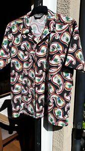 Original Vintage 1950s/60s 'Le Tigre' Short-Sleeved Shirt