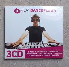 CD AUDIO MUSIQUE  / PLAY DANCEFLOOR  3XCD COMPILATION DIGISLEEVE NEUF 2012