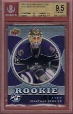 JONATHAN BERNIER ROOKIE 2007-08 UPPER DECK MINI JERSEY #122 RC BGS 9.5 07-08