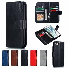 Leather Flip Wallet Card Holder Case Cover For Huawei P30 P20 Pro Mate 20 Lite