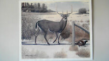 Boone & Crocket Wayne Bills Iowa Record Whitetail Buck Artist Brcka S/N Ltd. Ed.