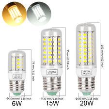 E27 G9 LED Corn Bulb 6W 15W 20W Light 5730 SMD Lamp Warm White Cool White 110V