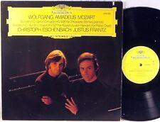 DGG Mozart ESCHENBACH & FRANTZ Sonatas for 2 Pianos 2530 285 EX+
