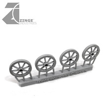 Zinge Industries - Wheels - 25mm Wooden Wheel X 4 S-WHE14