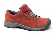 KEEN Womens Reisen Lace Shoe Sneaker Red Dahlia Leather Size 5 M US
