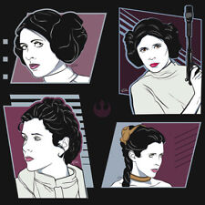 STAR WARS Princess Leia Pop Artwork Icon Carrie Fisher NEW RIPT Apparel T-SHIRT