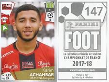 147 KARIM ACHAHBAR MAROC EA GUINGAMP US Quevilly-Rouen STICKER PANINI FOOT 2018
