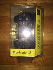 OFFICIAL Sony Playstation 2 PS2 Black Dualshock 2 Controller SEALED! Brand NEW!