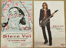 Steve Vai Rare 2005 Double Sided Tour Promo Poster 4 Illusions Cd 12x18 Mint Usa