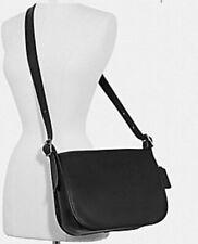 NEW F88145 COACH Patricia Saddle Bag OB/BLACK