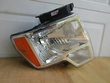 09 10 11 12 13 14 FORD F-150 FRONT RIGHT HEADLIGHT OEM