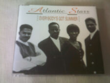 ATLANTIC STARR - EVERYBODY'S GOT SUMMER - 4 TRACK R&B CD SINGLE