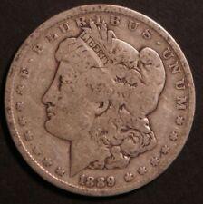 1889 O Circulated Morgan Silver Dollar Coin