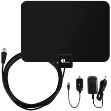 1byone Free HD programs Digital HDTV Antenna Signal Amplifier Booster 50 Mile