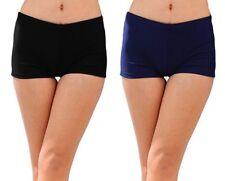 New Womens Ladies Shorts Swimwear Bottoms Brief Underwear Bikini Plain Swimming
