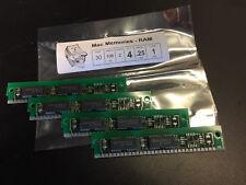 4x 256KB 30-Pin 2-Chip Non-Parity 100ns Memory SIMMs 1MB Set RAM UNIX PC 1MB