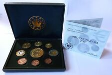 UK United Kingdom Pattern Euro Coin Collection 2003 Prooflike LIMITED EDITION !