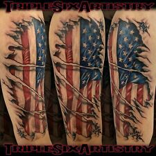 Custom Tattoo by Jaymz at Triple Six Artistry ( Save the Date DEPOSIT )