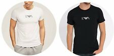 Authentic Men's Emporio Armani Eagle Print Stretch T/Shirt. White or Black. S-XL