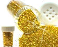 1 Tube Glitzerpulver Glimmer Streudose Gold Glitter Puder Deko Nail Art
