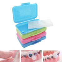 10 Packs Fruit Scent Dental Orthodontics Ortho Wax For Braces Gum Irritation Set