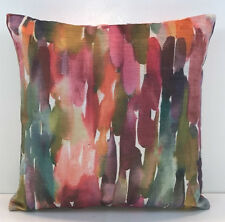 Voyage - Azima iridescence grenadine velvet cushion cover 17""