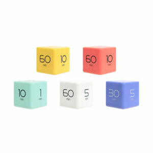 Mooas Cube Timer PRESET TIMER Minute Second