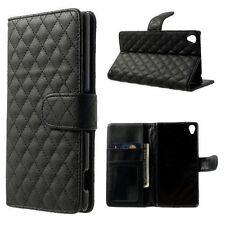 Unifarbene Schutzhüllen aus Kunstleder für Sony Ericsson