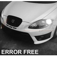 SEAT LEON MK2 MK1 XENON COOL WHITE LED SIDELIGHT BULBS CANBUS ERROR FREE FR