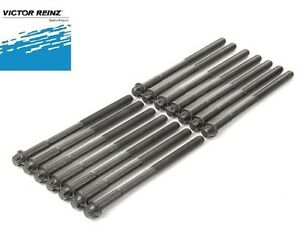 Set of 14 Cylinder Head Bolts VICTOR REINZ Premium Quality for BMW 325 525i 528e