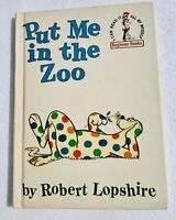 1960 Vintage Put Me In The Zoo By Robert Lopshire Book Club Edition Dr. Seuss