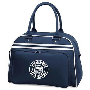 Wigan Casino All Nighter Retro Bowling Bag With Embroidered Logo. Ska, Retro.