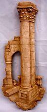 Greek Art Athena Column Arch Wall Sculpture Home Decor Plaque Roman 18045