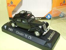 CITROEN TRACTION 15 CV RALLYE DE MONTE CARLO 1952 SOLIDO