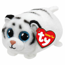 "TY Teeny Tys Zack Tiger Beanie Babies 3"" Stuffed Plush Toy Stackable Tsum Tsum"