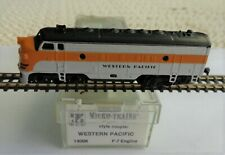 Micro-Trains 14006 Western Pacific EMD F7. ORK Spur Z Topp