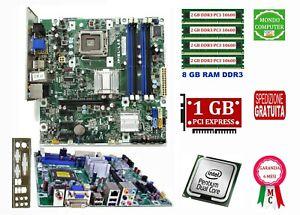 KIT SCHEDA MADRE 775 HP IPIEL-LA3 +CPU DUAL CORE E5300+8Gb DDR3+ S.GRAFICA 1GB