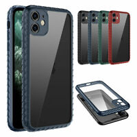 For iPhone 11 Pro Max SE2020 8/7 Heavy Duty Shockproof Rubber Clear Case Cover